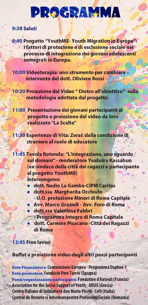 outh me al centro italiano di solidarietà di roma: empowerment, giovani, migrazioni